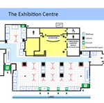 EFTF 2016 - Floorplan of exhibition area, showing location of stands