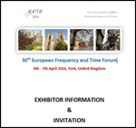 EFTF 2016 - Exhibitor Information and Invitation