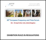 EFTF 2016 - Exhibition Rules and Regulations